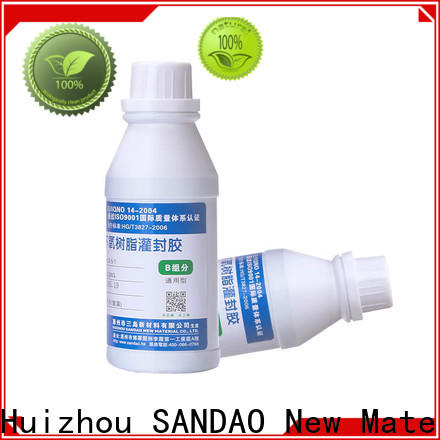 SANDAO heatconductive Two-component addition-type potting adhesive TDS factory for metalparts
