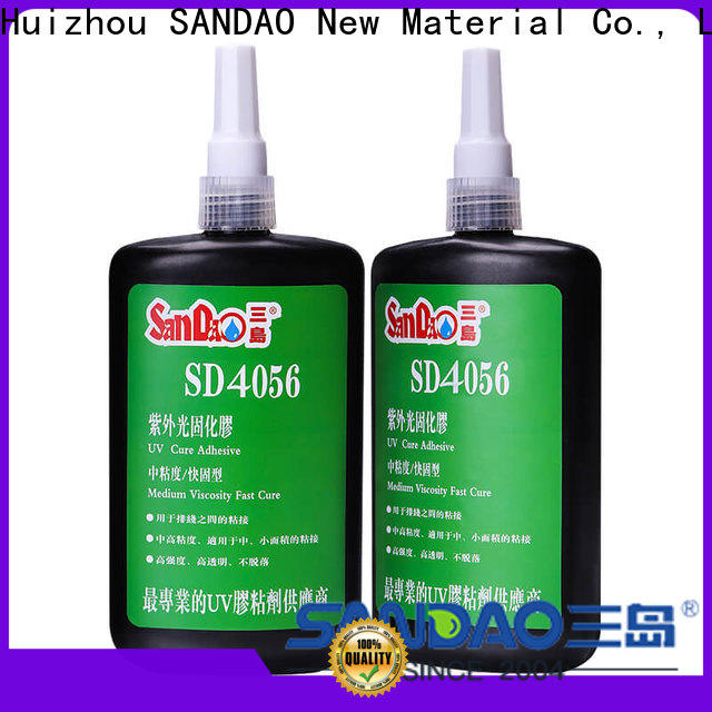 SANDAO excellent uv bonding glue buy now for electronic products