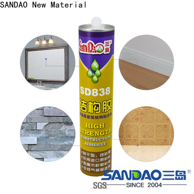 SANDAO nail free adhesive supply for electrical products