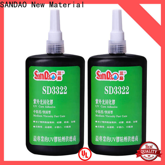 nice uv glue for glass plastics factory price for electronic products