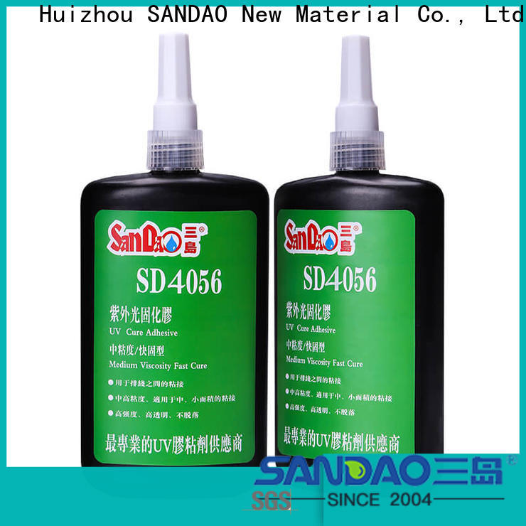 excellent uv bonding glue plastics from manufacturer for electrical products