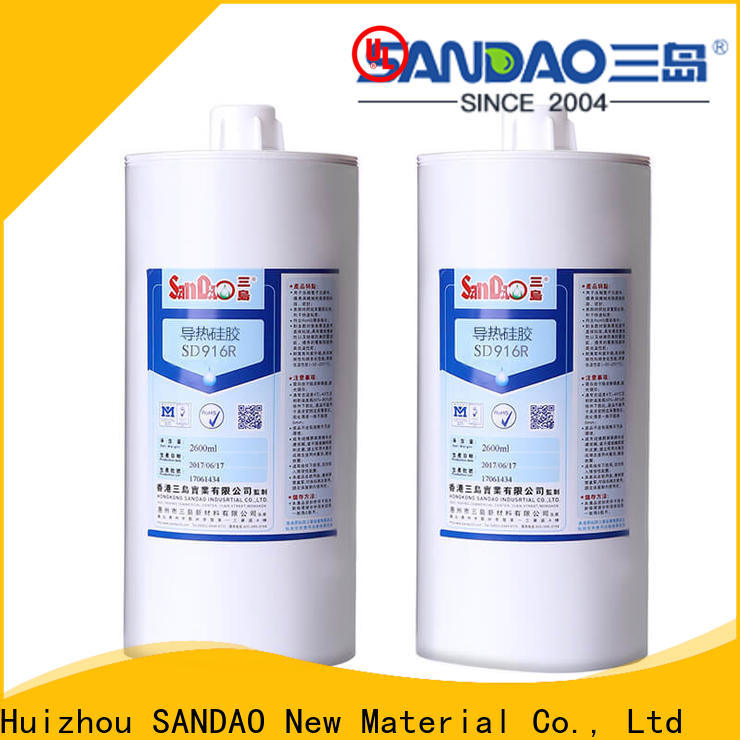 SANDAO One-component RTV silicone rubber TDS in-green for substrate