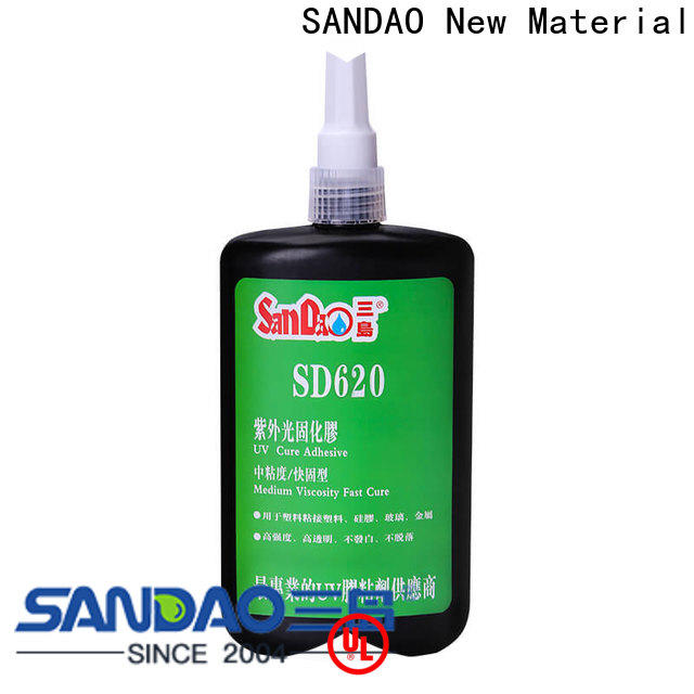 SANDAO curing uv cured glue for electrical products