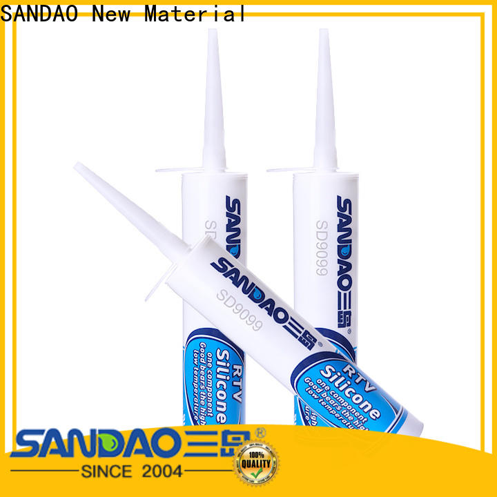 SANDAO flame One-component RTV silicone rubber TDS company for screws