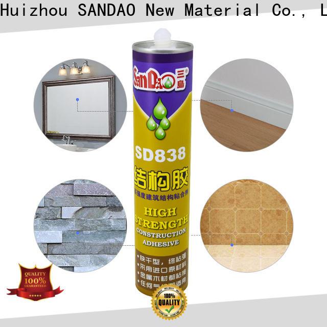 SANDAO adhesive nail free adhesive with good price for screws