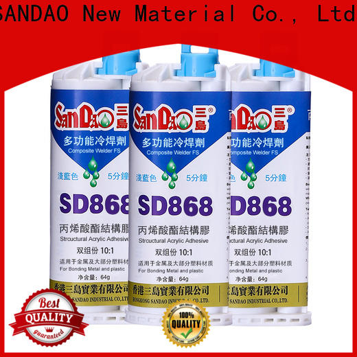 SANDAO structural epoxy resin company for TV power amplifier tube