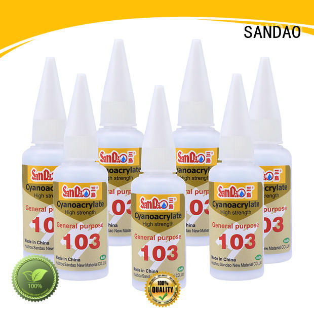 SANDAO Silicone bonding adhesive cost for screws