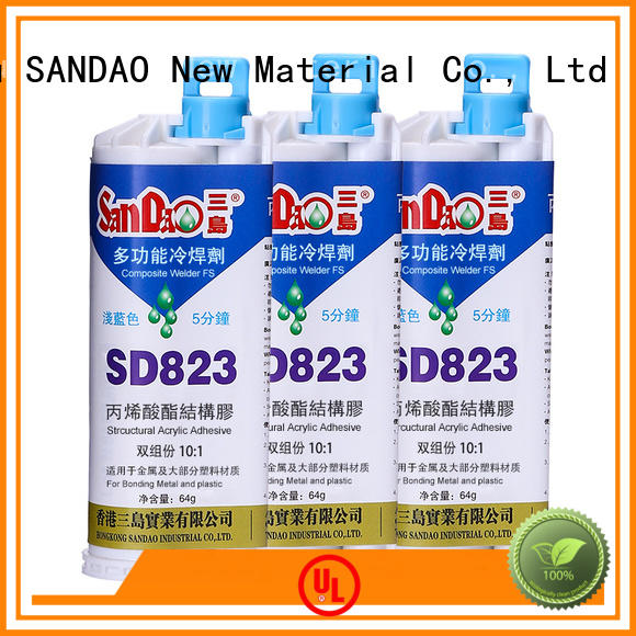 temperature 2 part epoxy adhesive factory price for heat sink SANDAO