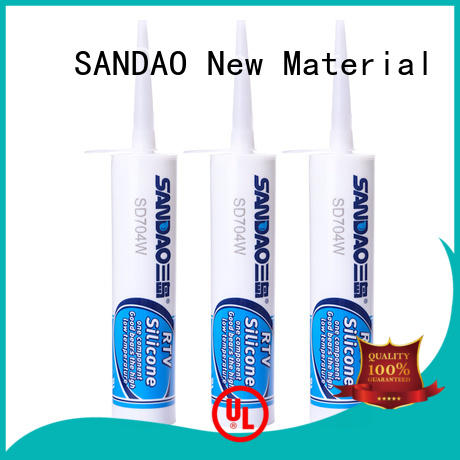 SANDAO one One-component RTV silicone rubber TDS manufacturer for screws