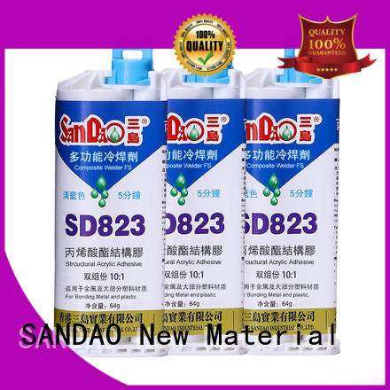 SANDAO transparent epoxy ab glue factory price for electronic products