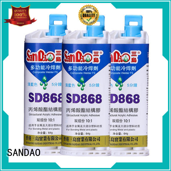 SANDAO parts Epoxy resin adhesive series effectively for electronic parts