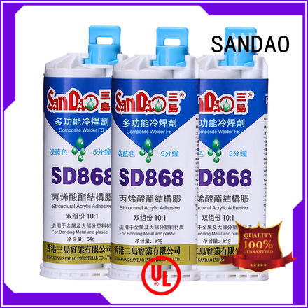 SANDAO high-quality clear epoxy glue marketing for baking paint