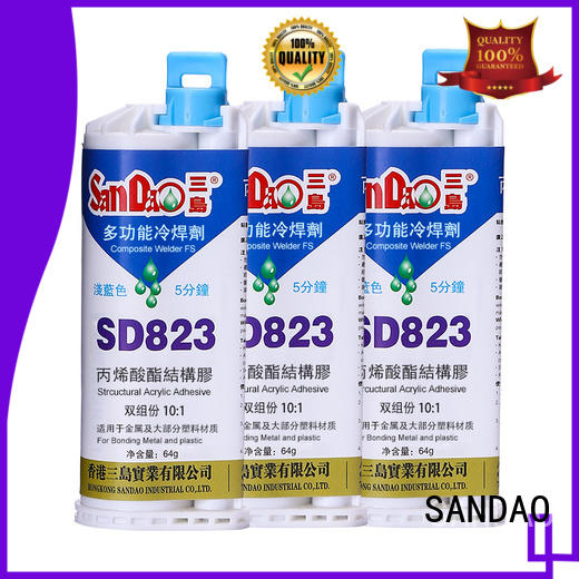 resistant two part adhesive structural for Semiconductor refrigeration SANDAO