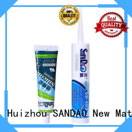 SANDAO adhesive rtv silicone rubber certifications for substrate