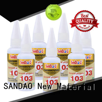 SANDAO adhesive bonding adhesive cost for screws