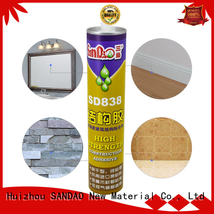 SANDAO useful nail free adhesive directly sale for electronic products