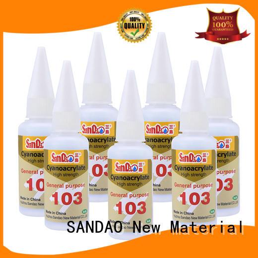 SANDAO effective bonding adhesive type for fixing products