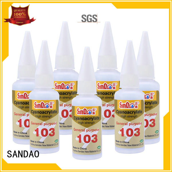 SANDAO power bonding adhesive for-sale for electrical products