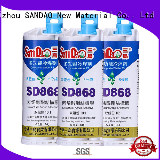 epoxy based adhesive bonding for glass parts SANDAO