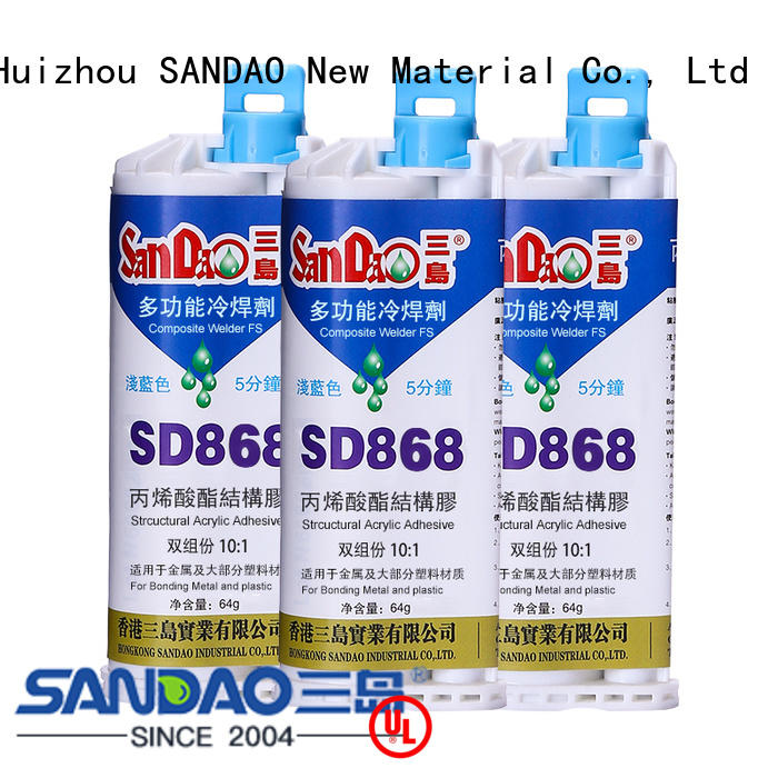 good-package epoxy ab glue resin free design for heat sink