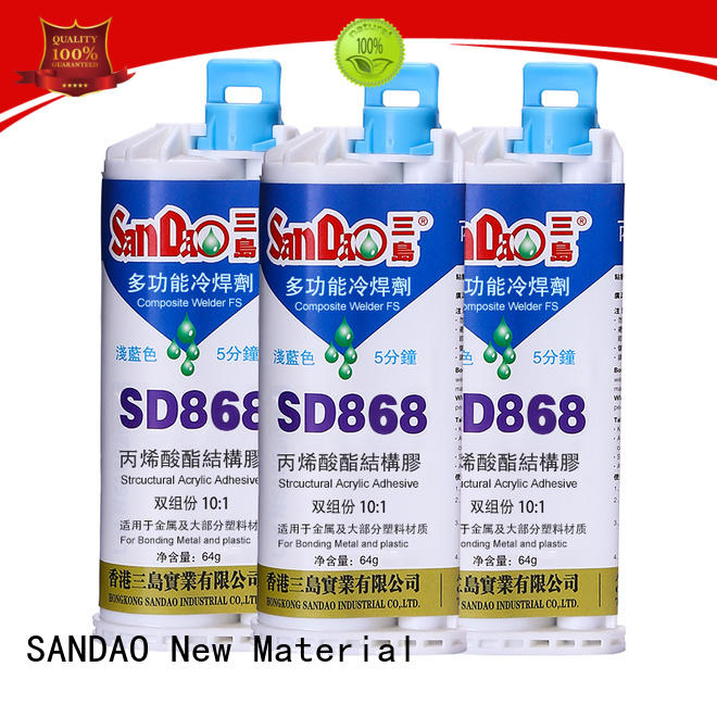 SANDAO excellent clear epoxy glue supplier for electroplating