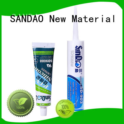 SANDAO thermal One-component RTV silicone rubber TDS certifications for screws