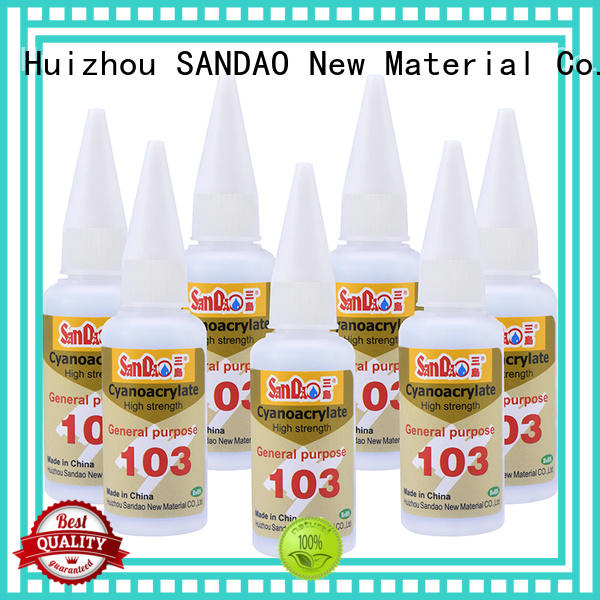 SANDAO adhesive bonding adhesive for-sale for fixing products