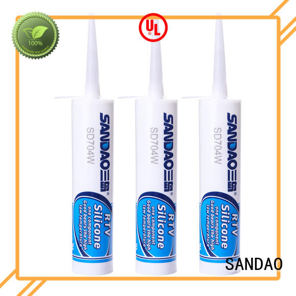 SANDAO waterproof rtv silicone rubber widely-use for screws