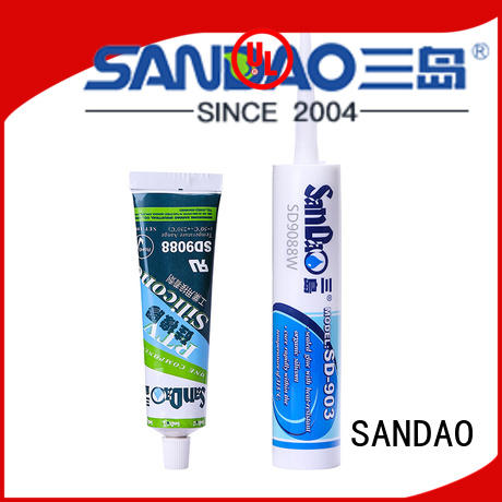 SANDAO environmental rtv silicone rubber in-green for electronic products