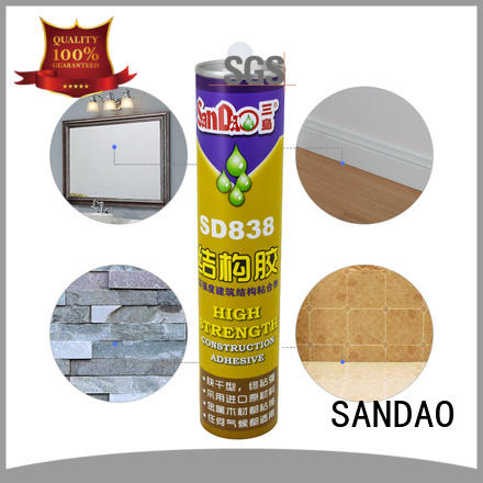 SANDAO quality nail free adhesive directly sale for electronic products