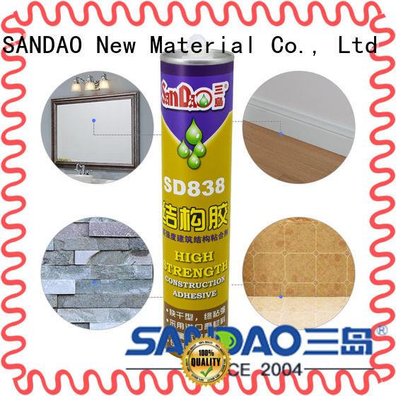 SANDAO useful ms adhesive factory corrosion resistance