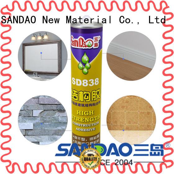 SANDAO nailfree modified silane nail free adhesive for screws