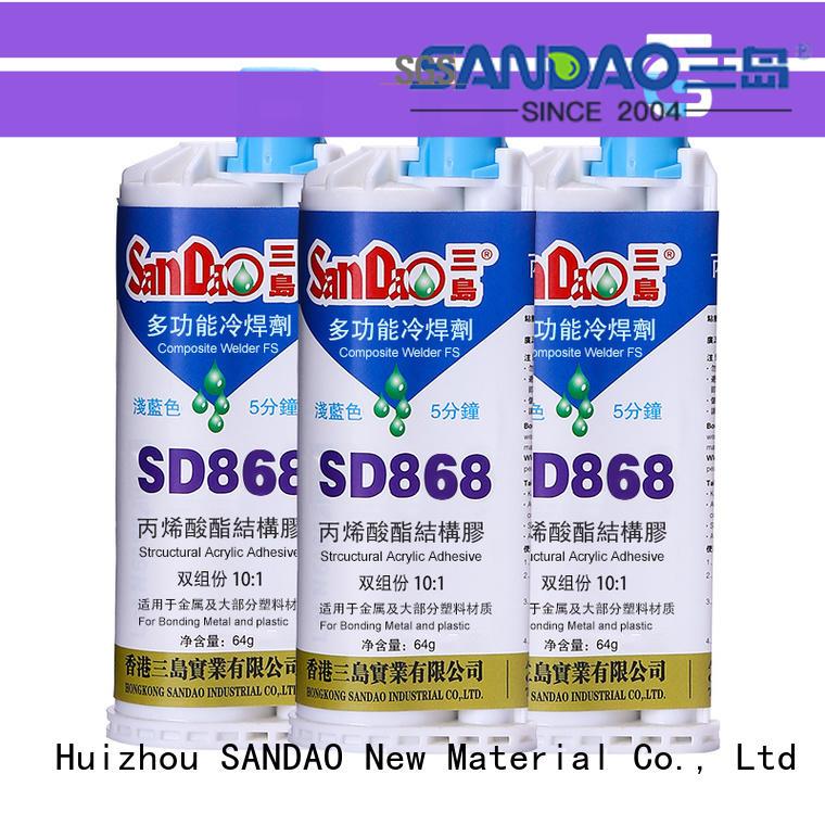 SANDAO transparent ab glue at discount for screws