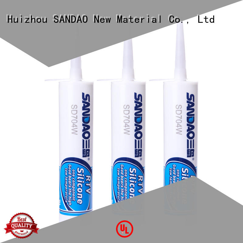 SANDAO flame rtv silicone rubber long-term-use for screws