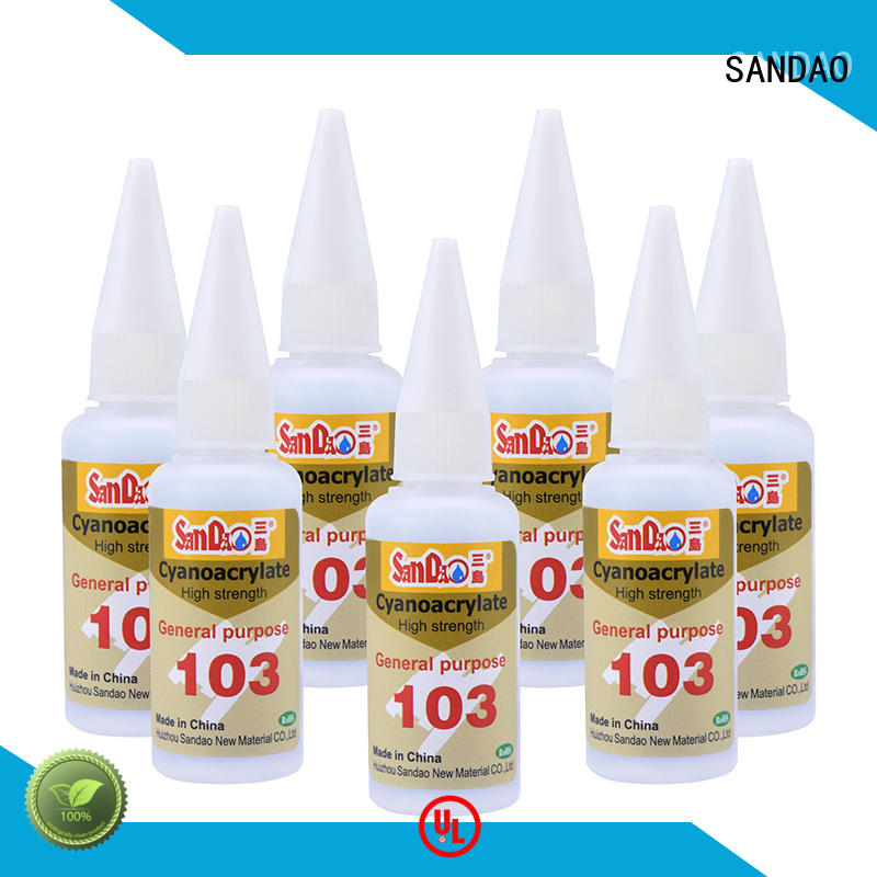 SANDAO conductive bonding adhesive marketing for electrical products