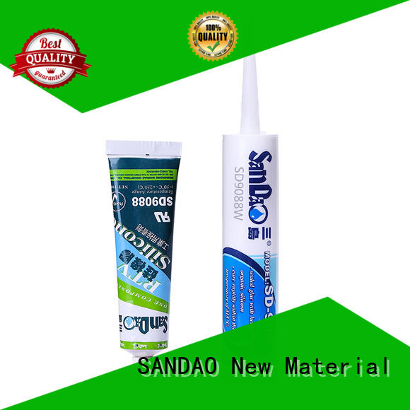 SANDAO printed One-component RTV silicone rubber TDS long-term-use for screws