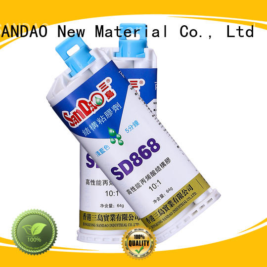 clear epoxy glue bonding for magnetic materials SANDAO