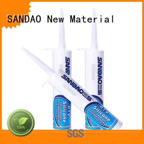 SANDAO lamp rtv silicone rubber in-green for substrate