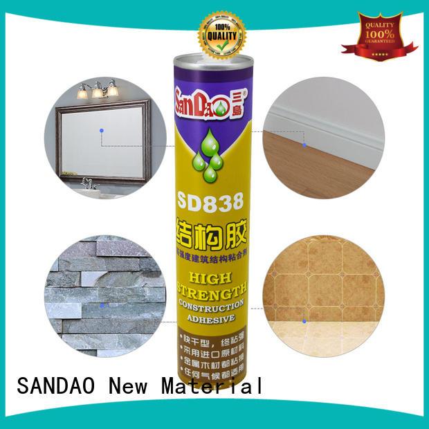 SANDAO adhesive modified silane nail free adhesive from China for fixing products