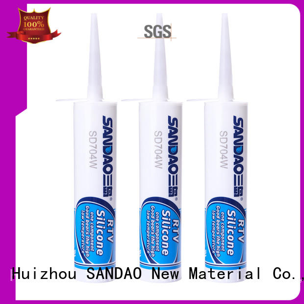 SANDAO lamp rtv silicone rubber certifications for substrate