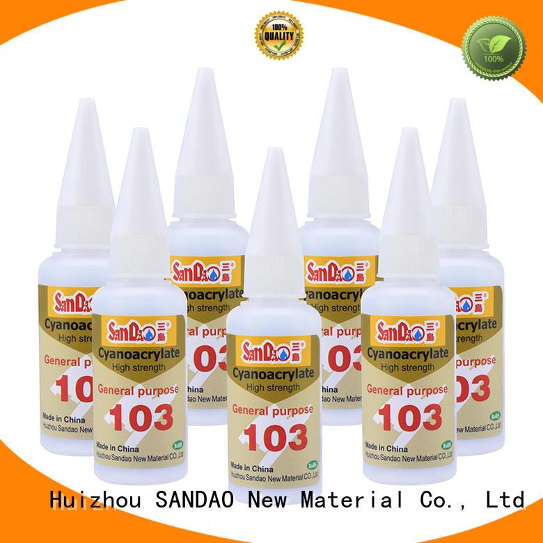 SANDAO effective bonding adhesive long-term-use for screws