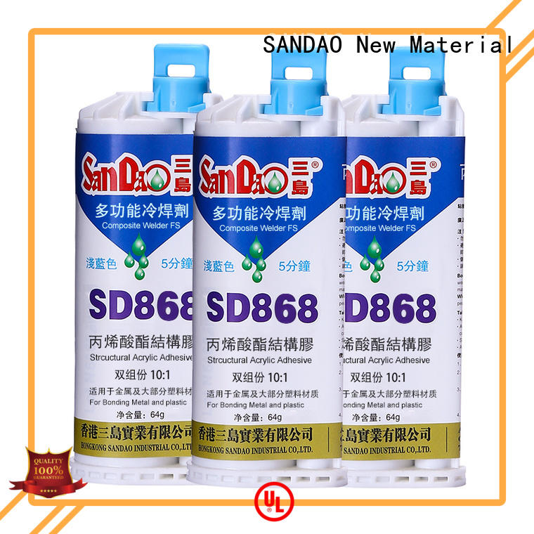 SANDAO electronic clear epoxy glue type for electroplating