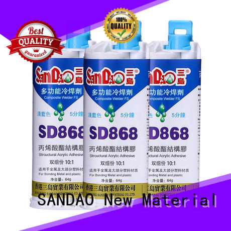 SANDAO nice clear epoxy glue for-sale for baking paint