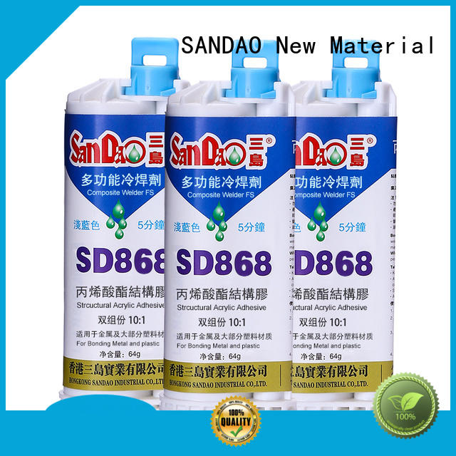 SANDAO high-quality clear epoxy glue price for glass parts