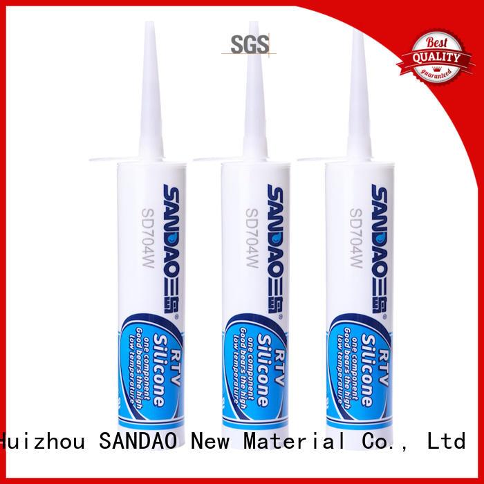 SANDAO yellow rtv silicone rubber for converter