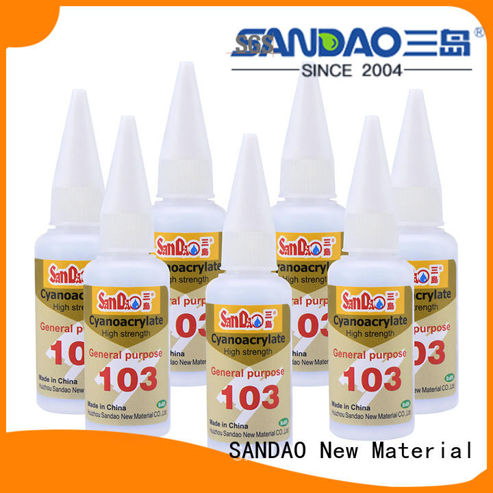 SANDAO special adhesive sealants marketing for screws