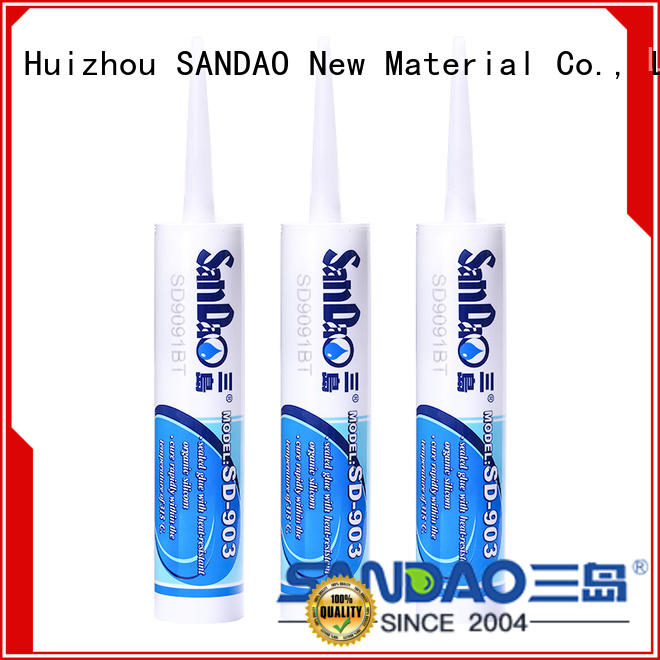 SANDAO gel rtv silicone rubber producer for substrate