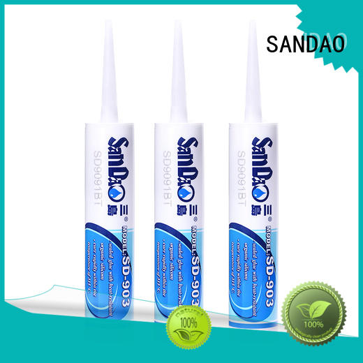 SANDAO newly One-component RTV silicone rubber TDS producer for substrate