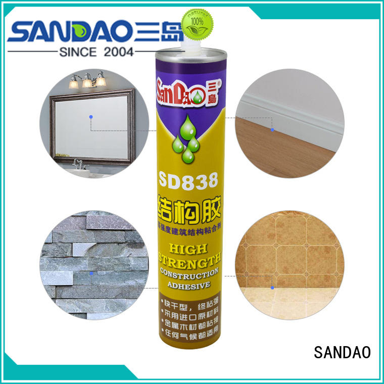 allpurpose nail free adhesive from China for electronic products SANDAO