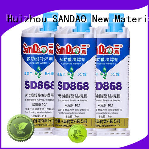 SANDAO bonding Epoxy resin adhesive series owner for glass parts